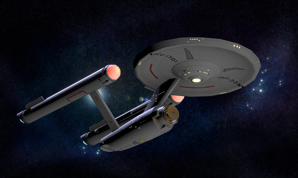Sketchfab category - science - USS Enterprise