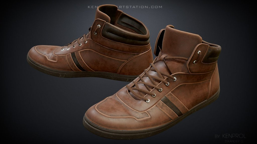 Sketchfab category - fashion - Shoes