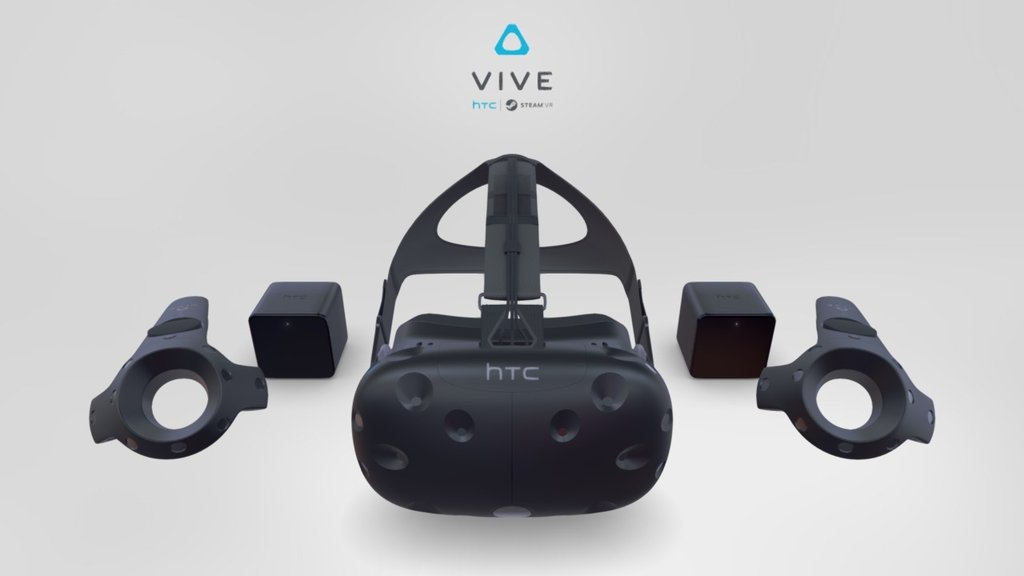 Sketchfab category - electronics - HTC Vive