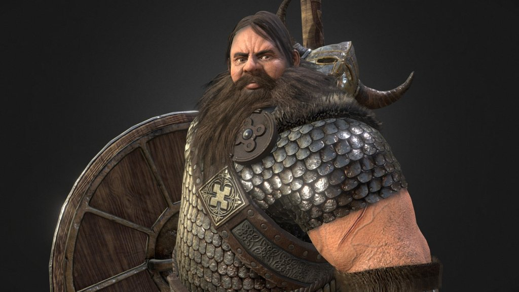Sketchfab category - characters - Viking
