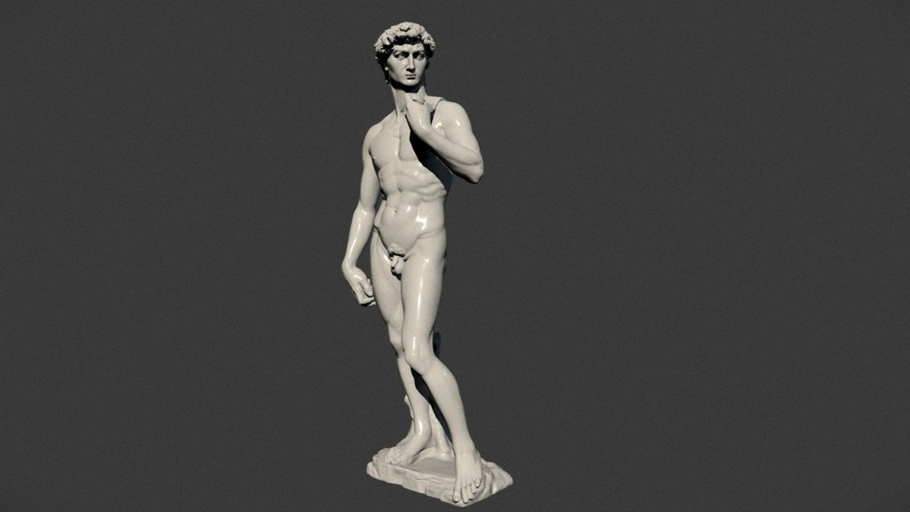 Sketchfab category - art - David