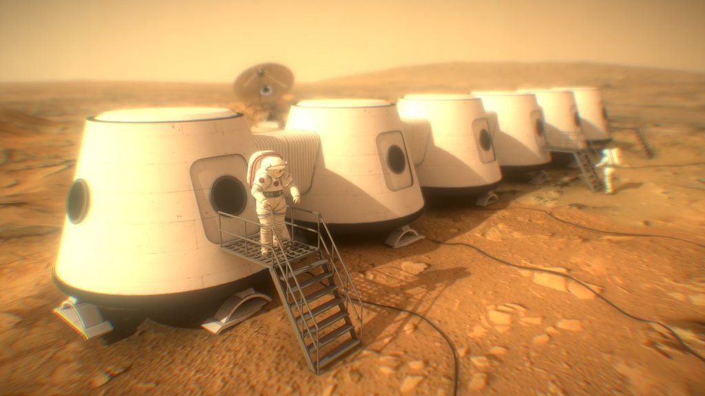Sketchfab category - places - Mars