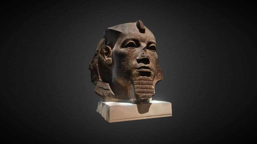 Sketchfab category - cultural heritage - Granite Head