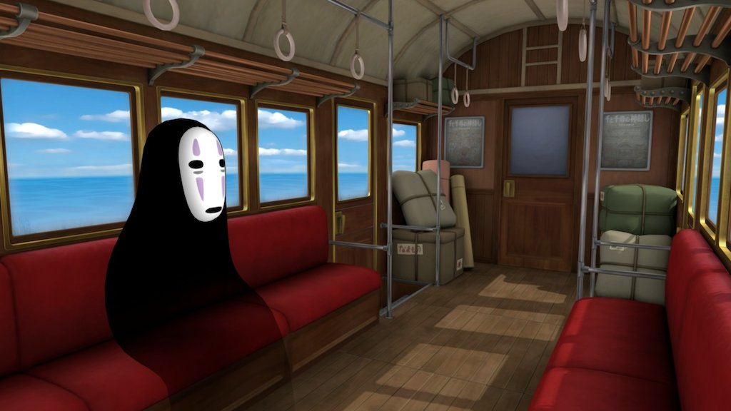 Sketchfab category - cars - Spirited Away
