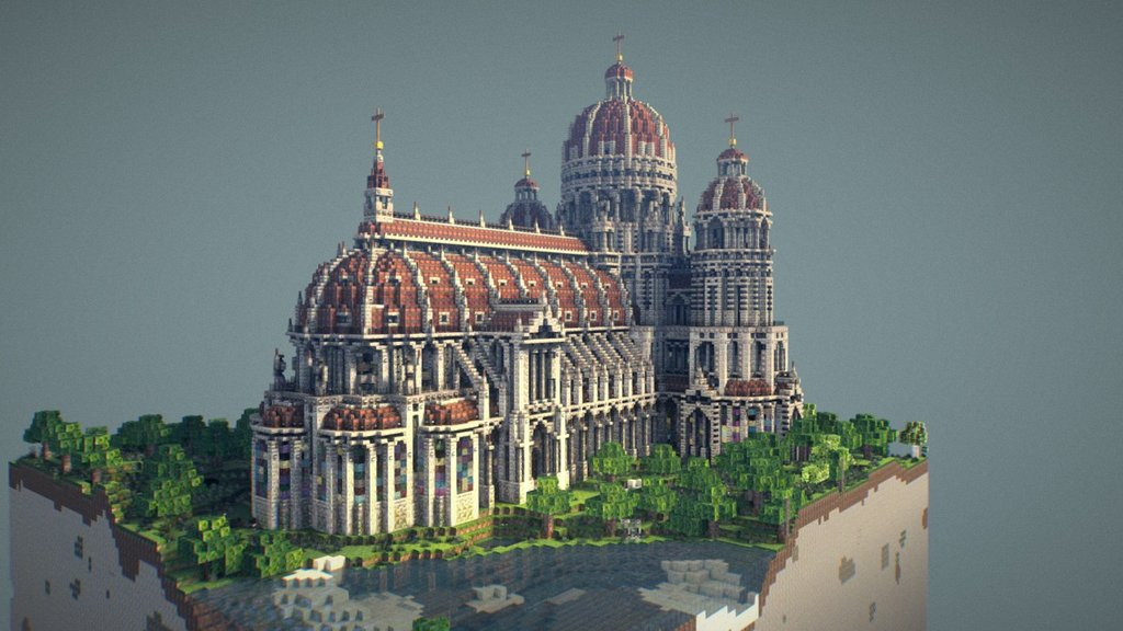 Sketchfab category - architecture - Cathedral