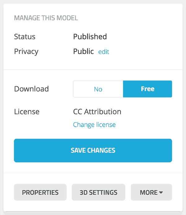 Downloading Models – Sketchfab Help Center