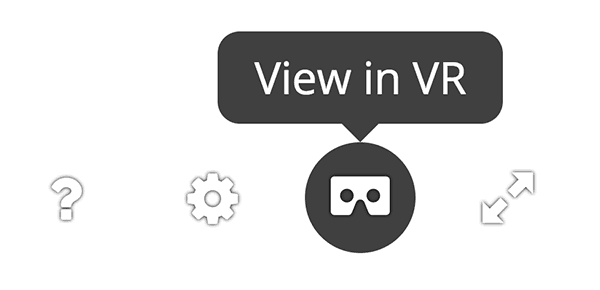 Sketchfab VR Mode button