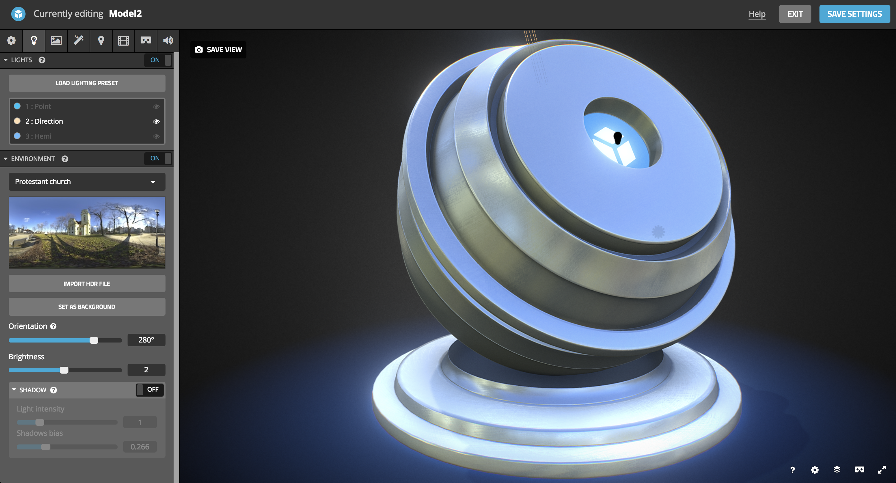 Lighting – Sketchfab Help Center