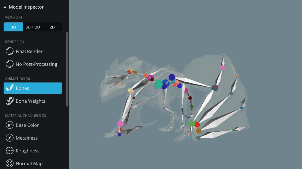 Model Inspector – Sketchfab Help Center