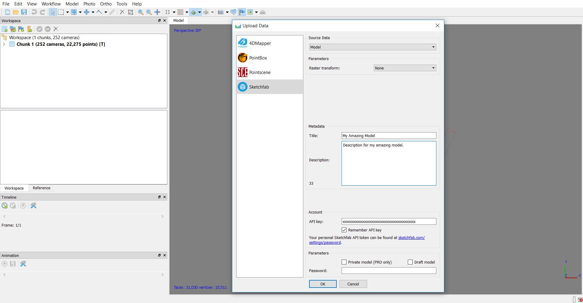 Agisoft Metashape (Photoscan) – Sketchfab Help Center