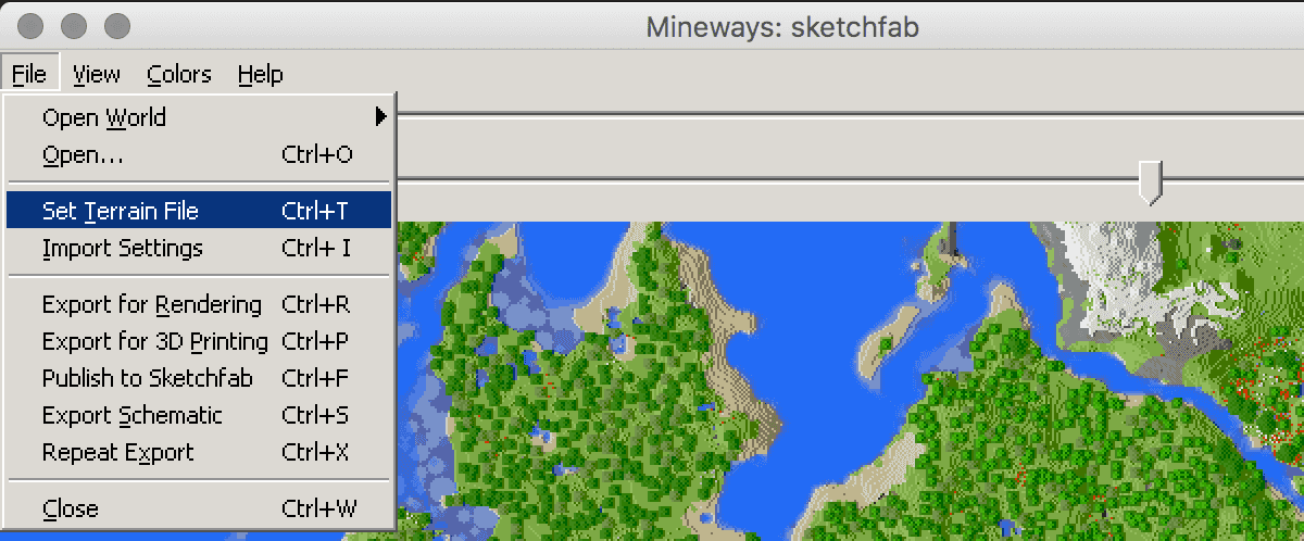 Upload Publish 3d model minecraft mineways Sketchfab
